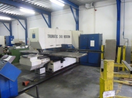 Punch TRUMPF TRUMATIC 240 ROTATION (USED)