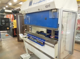 Press brakes TRUMPF TRUMABEND 85 TON X 2050MM (USED)