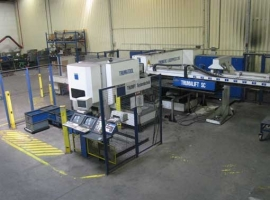 Punch / Laser TRUMPF TRUMATIC LASERPRESS 260 1KW (USED)