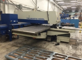 Punch / Laser TRUMPF TC600L SIEMANS 840D (USED)