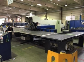 Punch / Laser TRUMPF TRUMATIC 600 L - 1600 2.4KW (USED)