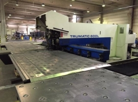 Punch / Laser TRUMPF TRUMATIC 600 L - 1300 2.2KW (USED)
