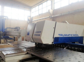 Punch / Laser TRUMPF TC 600 L - FMC 2.6KW (USED)