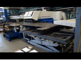 Punch / Laser TRUMPF TC 6000 L - 1600 FMC (USED)