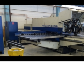 Punch / Laser TRUMPF TRUMATIC 600L-1300 (USED)