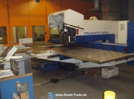Punch / Laser TRUMPF TRUMATIC LASERPRESS 600L -1300 (USED)