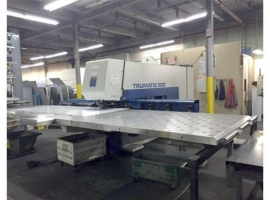 Punch TRUMPF TRUMATIC 500 ROTATION - 1600 (USED)