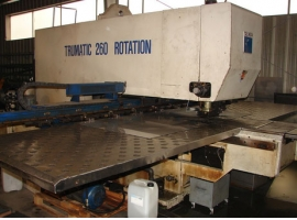 Punch TRUMPF TRUMATIC 260 ROTATION (USED)