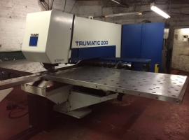 Punch TRUMPF TRUMATIC 200 ROTATION (USED)