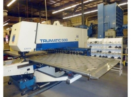 Punch TRUMPF TRUMATIC 500 ROTATION (USED)
