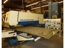 Punch TRUMPF TRUMATIC 500 ROTATION - 1300 (USED)