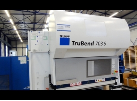 Press brakes TRUMPF TRUBEND 7036 (USED)