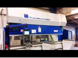 Press brakes TRUMPF TRUMABEND V320X (USED)