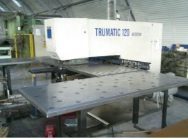 Punch TRUMPF TRUMATIC ROTATION 120R (USED)
