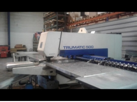 Punch TRUMPF TRUMATIC 500 ROTATION – 1300 (USED)
