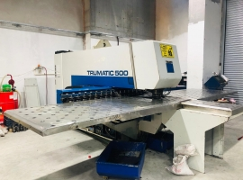 Punch TRUMPF TRUMATIC 500R-1300 CNC (USED)